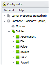 Add Custom Entities to Database